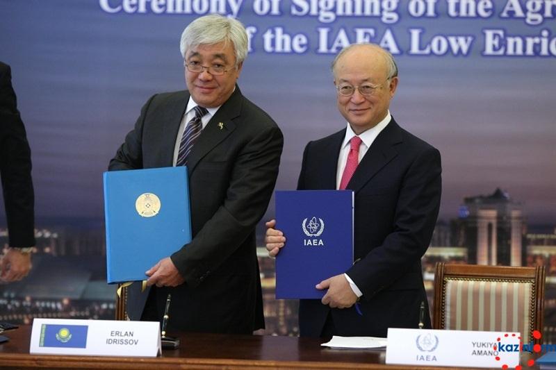 В Москве состоялся брифинг по итогам подписания соглашения о создании в Казахстане Банка низкообогащенного урана