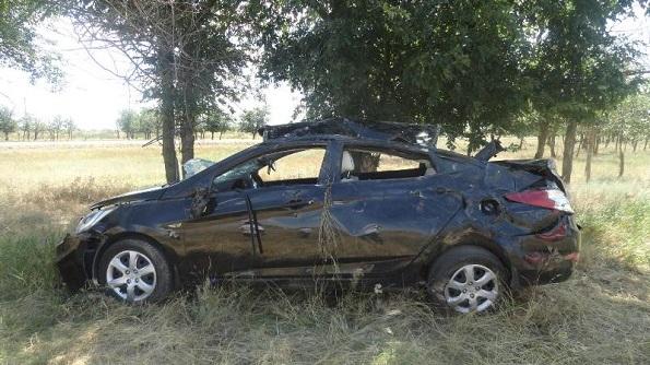 В Туркменском районе в ДТП пострадали двое детей