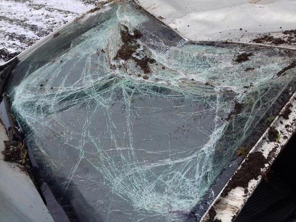 В Пятигорске девушка-водитель перевернулась на иномарке