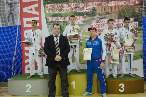 Рукопашники Ставрополя стали вторыми в первенстве России
