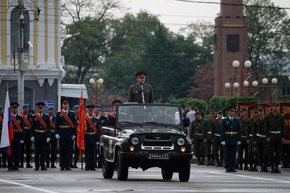 В Ставрополе ограничат движение на репетицию Парада Победы