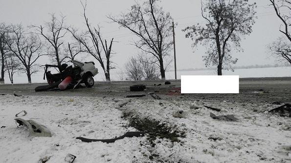 В Красногвардейском районе в ДТП два человека пострадали и один погиб