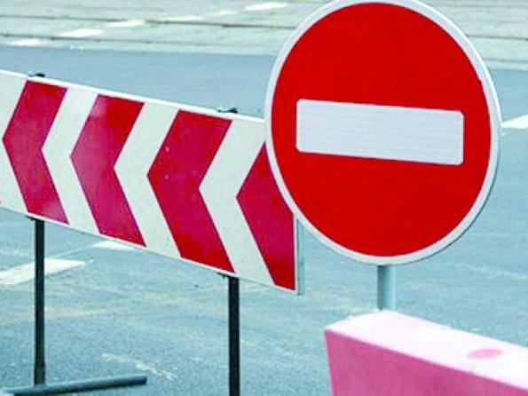 Закрыто движение транспортных средств на подъезде к городу Ставрополю