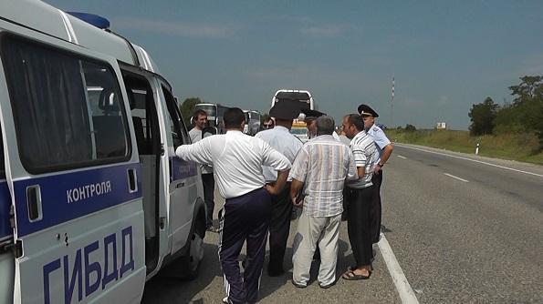 На Ставрополье проходит масштабная операция «Пристегнись в автобусе!»