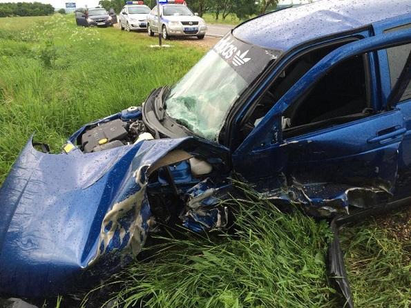 В Предгорном районе пьяный водитель «ВАЗа» столкнулся с иномаркой