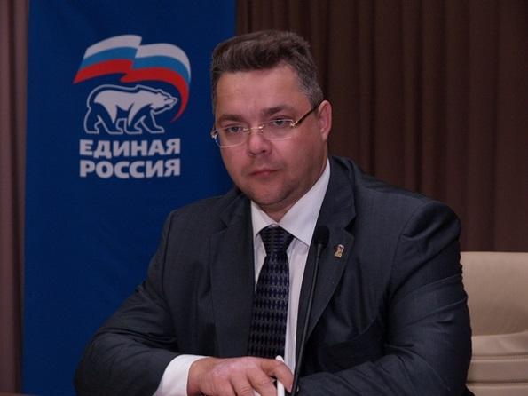 Действующий Губернатор Ставрополья возглавил список «Единой России» на выборах в краевую Думу