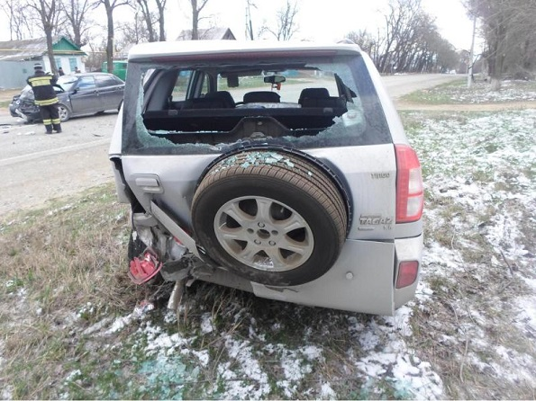 «Лада Приора» столкнулась с автомобилем «Вортекс Тинго». Пострадали две женщины