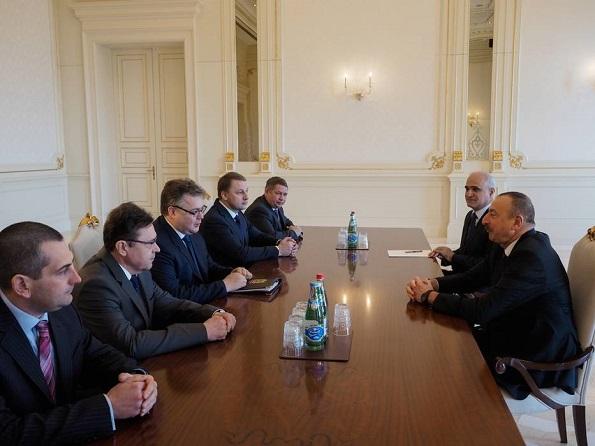 Встреча Губернатора СК с Президентом Азербайджана
