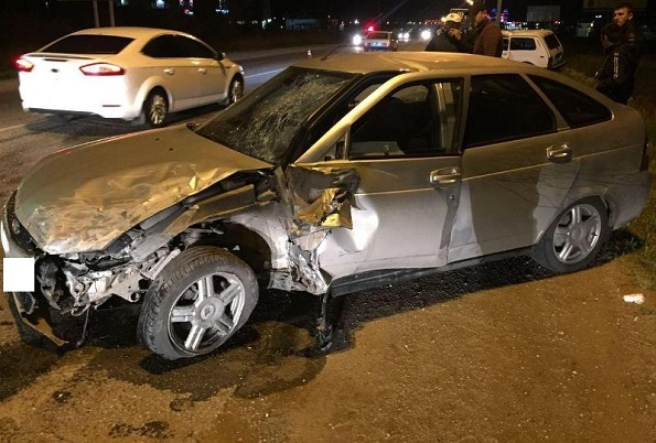 Три человека пострадали в автоаварии на ФАД «Кавказ»