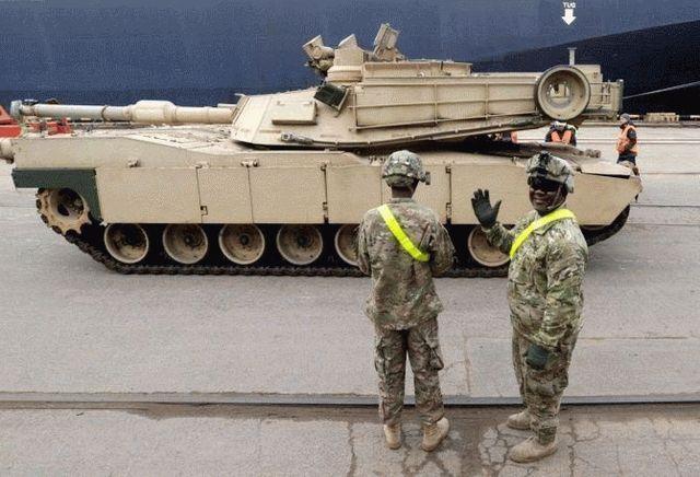 Литва подтвердила факт размещения американских танков в пределах своих границ