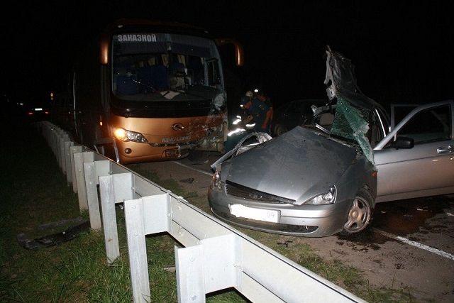 ДТП с автобусом под Ессентуками