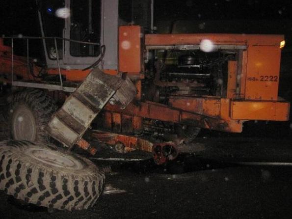 Четыре автомобиля столкнулись на федеральной трассе «Кавказ»