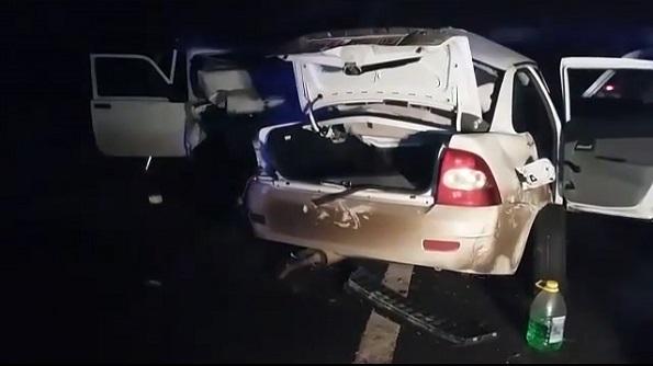 В Левокумском районе в ДТП погибли 6 человек