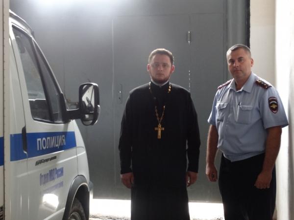 Представитель Общественного совета посетил отдел МВД Александровского р-на