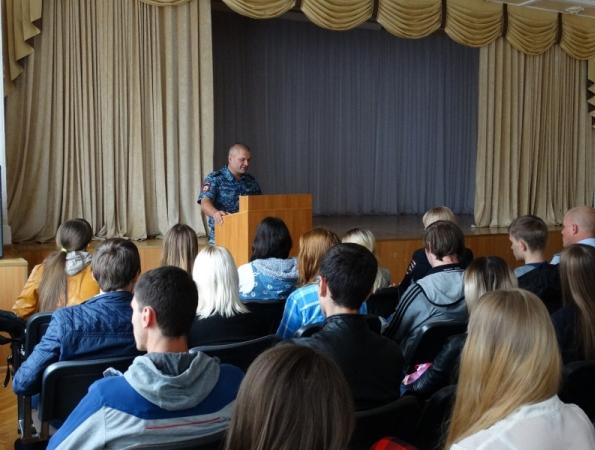 В Ставрополе состоялась встреча полицейских со студентами