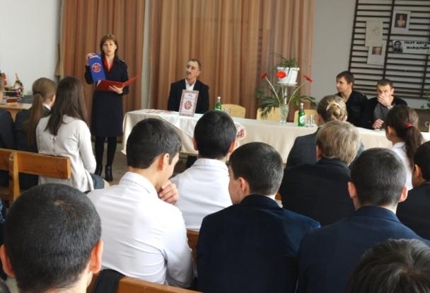 Сотрудники полиции Курского р-на провели лекции среди учащихся