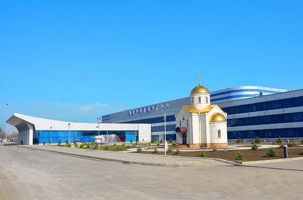 На территории аэропорта «Минеральные Воды» открыли храм-часовню