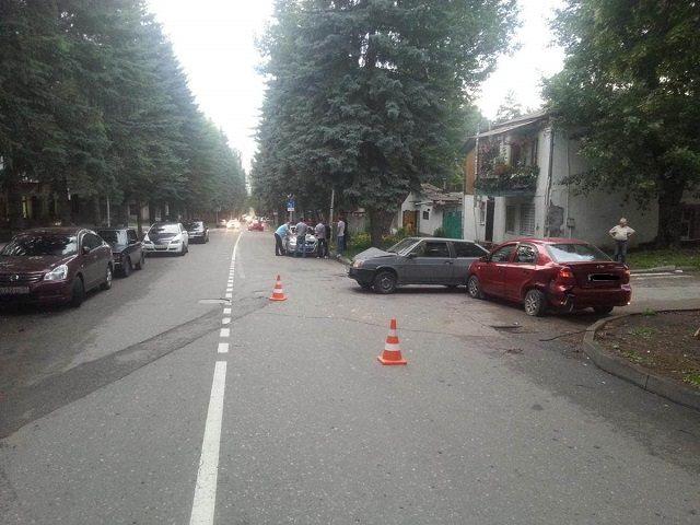 ДТП со злостным нарушителем в Кисловодске