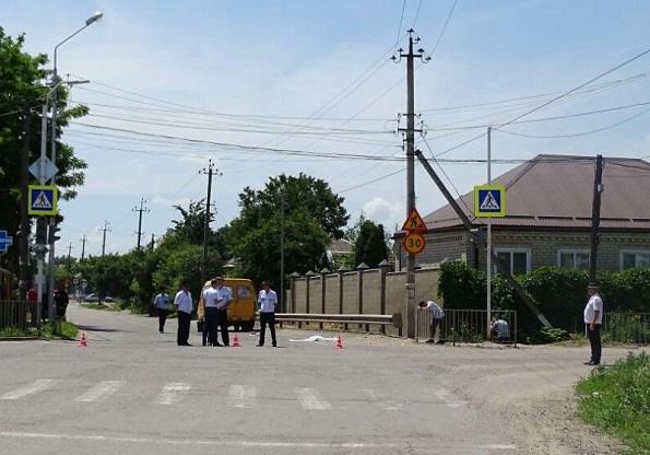 В ДТП в Новоалександровском районе погиб ребенок-пешеход