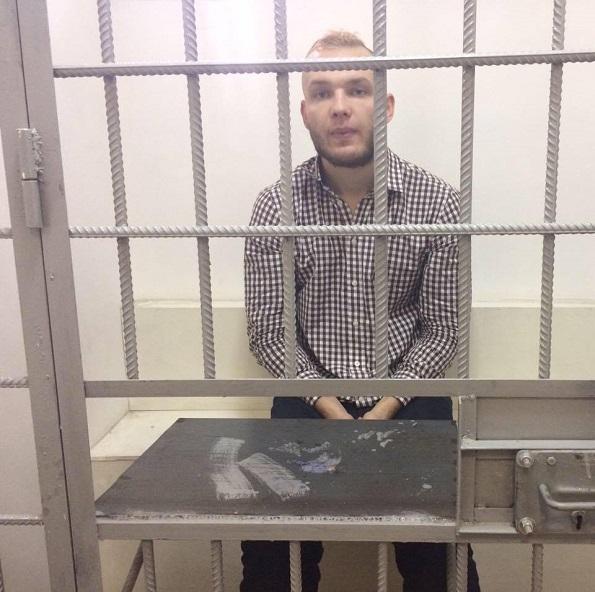 Активист «Молодежного Яблока» Кирилл Бобро