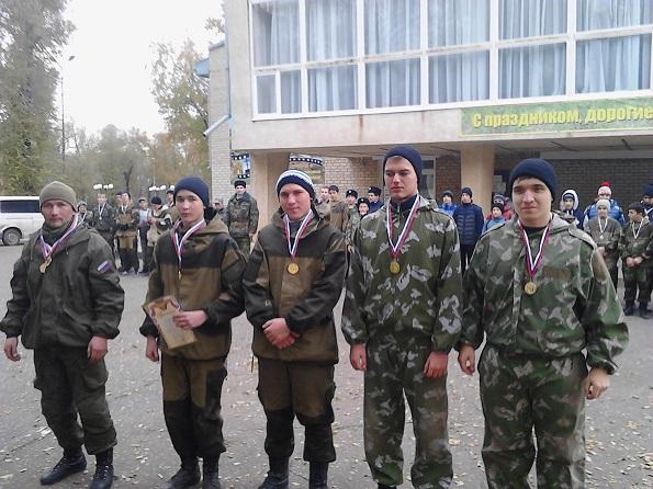 На Ставрополье определили лучших в стрелковой и тактической подготовке