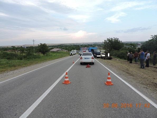 В Георгиевском районе в автоаварии пострадали два человека