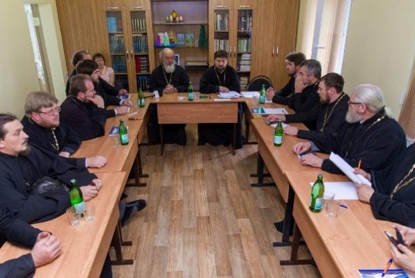 Взаимодействие Церкви и казачества обсудили в Успенском храме Пятигорска