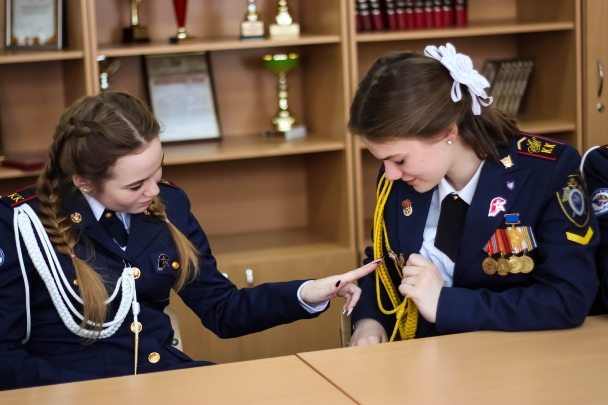В Ставрополе завершился второй слет кадет СКР