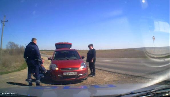 Сотрудники Ставропольской ГАИ предотвратили автоаварию
