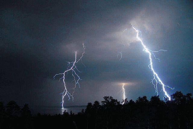 Грозовые дожди в Ставропольском крае