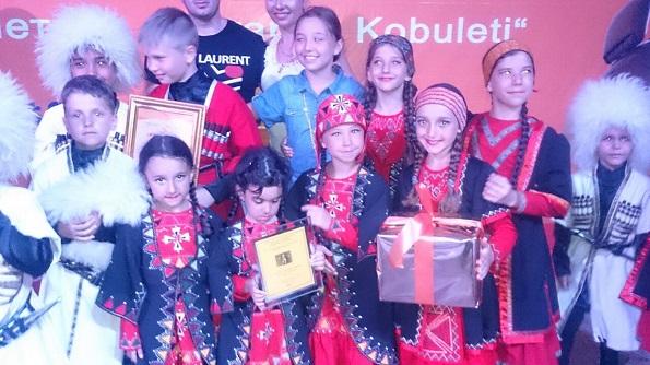 Танцоры ансамбля «Кавкасиони» получили «Гран-При» на международном фестивале в Грузии