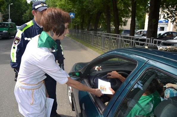 Ставропольские студенты - медики отправили письма безопасности водителям