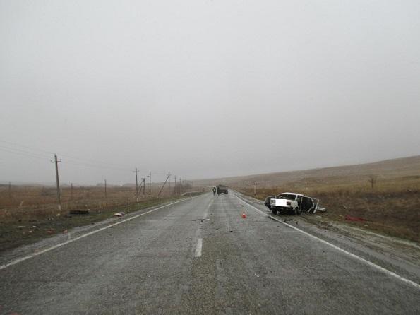 В Александровском районе погиб водитель Жигули после ДТП с КАМАЗом