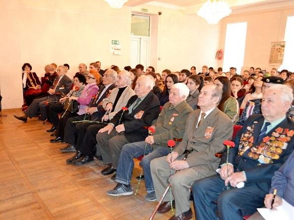 В Кисловодске отметили День ракетных войск и артиллерии