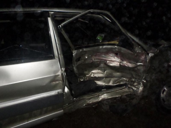 В Курском районе в результате столкновения трех авто три человека оказались в больнице