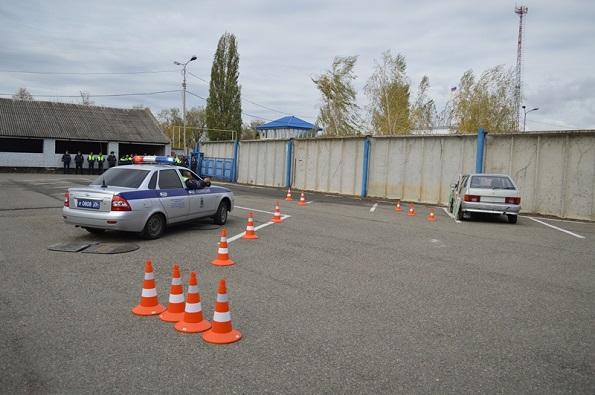 В Невинномысске открылся первый в России учебный полигон для обучения инспекторов ДПС