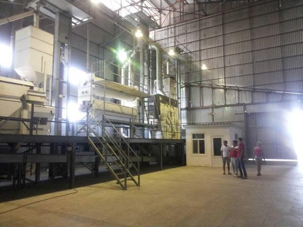 В Новоселицком районе запущен первый завод по подготовке семян