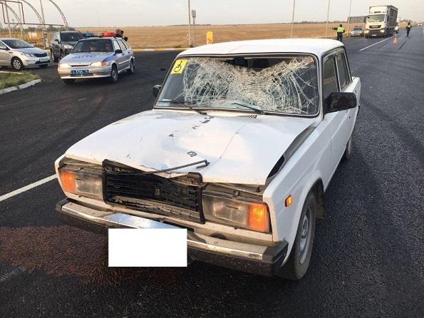 В Петровском районе водитель-лихач сбил насмерть женщину