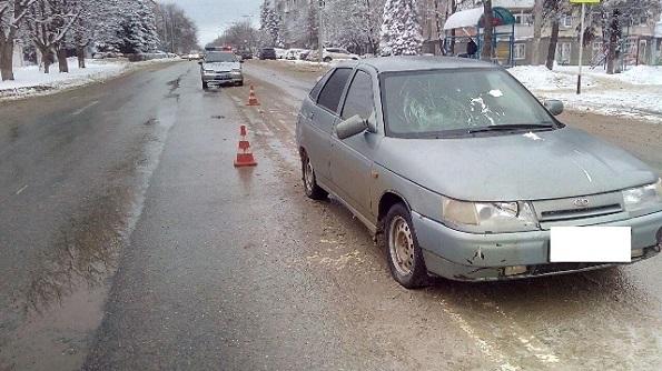 В Ставрополе молодой водитель на ВАЗе сбил пожилую пенсионерку