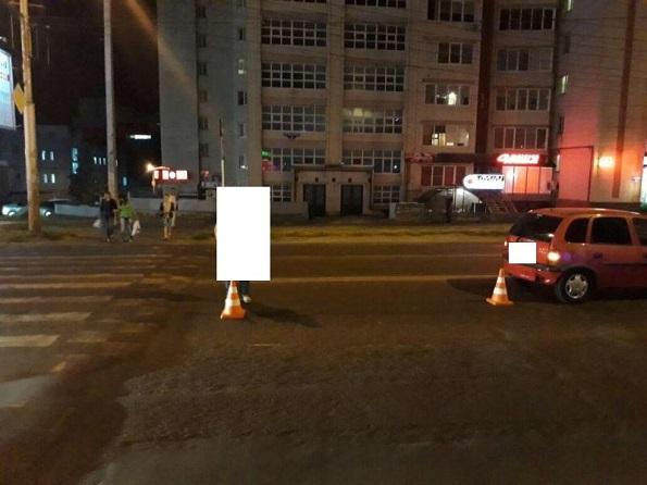 В Ставрополе на пешеходном переходе женщина-водитель сбила пешехода