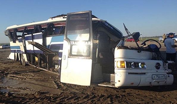 Пострадавших в ДТП с автобусом отправят в больницы Ставрополя