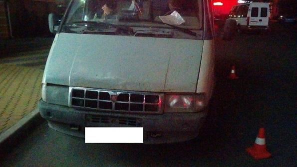 В Ставрополе под «ГАЗель» попал пешеход