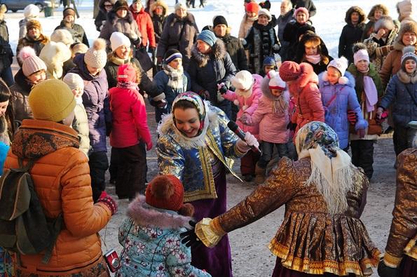 На Ставрополье Рождество Христово отмечают народными гуляниями