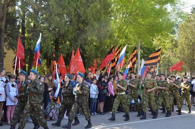 Завершился этап военно-спортивной игры «Зарница» среди районов Ставрополе