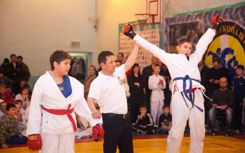 Юбилейный святочный турнир провели рукопашники Ставрополья