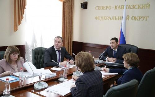 Полпред СКФО Михаила Ведерников обсудил проблемы образования на видеоконференции в Пятигорске