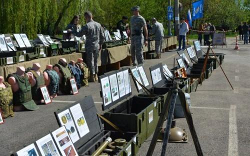 Выставка «Слава русского оружия» прошла в Невинномысске