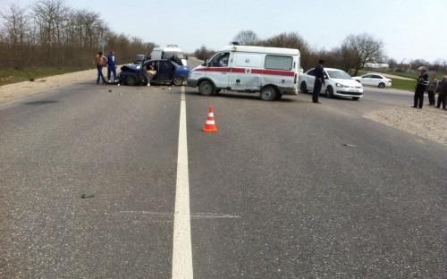 В Георгиевском районе в ДТП со автомобилем скорой помощи погиб мужчина
