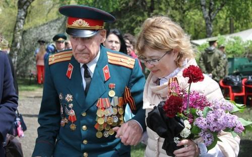 Ставропольцы встретили День Победы