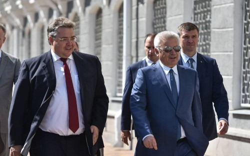 Президент ПАО «ЛУКОЙЛ» Вагит Алекперов совершил рабочую поездку в Ставропольский край